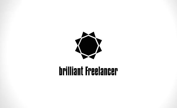 Brilliant Freelancer ID ~ On White