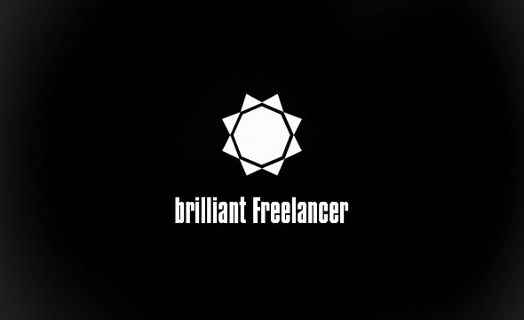 Brilliant Freelancer ID ~ On Black