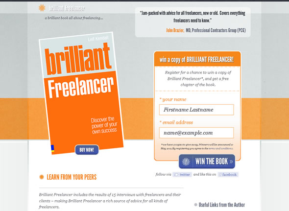Brilliant Freelancer ~ Final Design