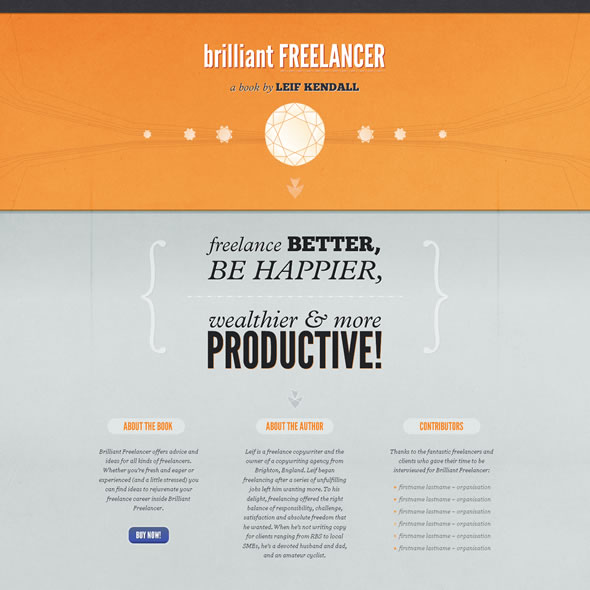 Brilliant Freelancer ~ Initial Design