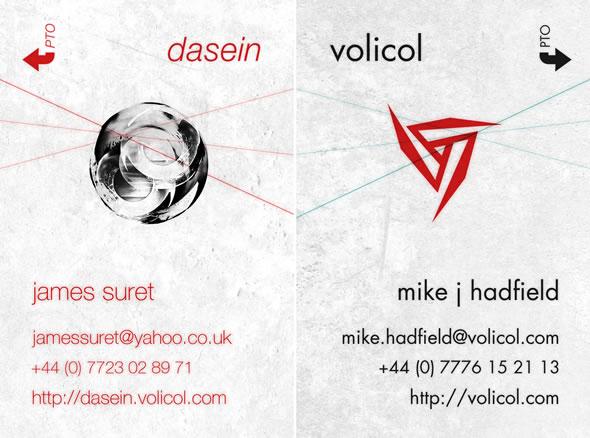 Dasein ~ Business Cards