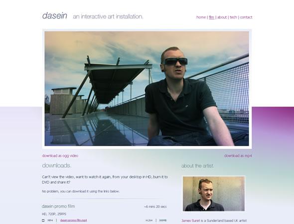 Dasein ~ Website