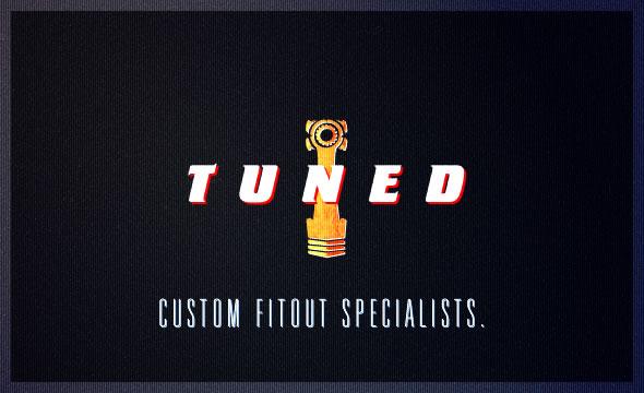 Tuned ~ Custom Fitout Specialists ~ Identity