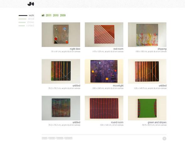 Jumpei Kinoshita ~ Homepage Layout