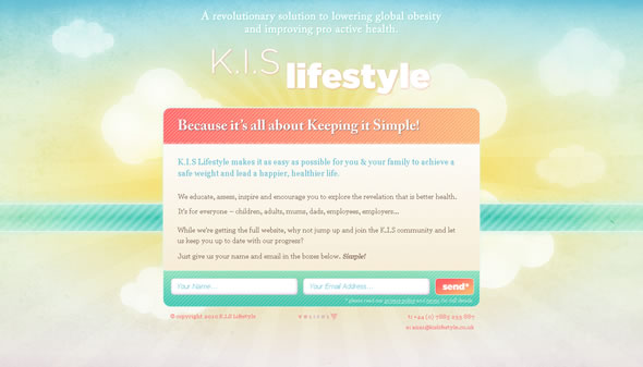 KIS Lifestyle ~ Holding Page
