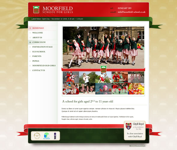 Moorfields ~ Home Page